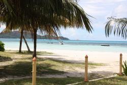 Vacances aux Seychelles hôtel Villas de Mer vue la baie pendant des vacances organisées par une agence voyage spécialisée routedesseychelles.com
