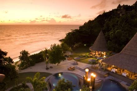 Vacances Seychelles hôtel Maia un séjour organisé par agence de voyages spécialisée routedesseyshelles.com